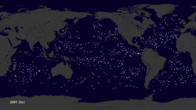 Műanyagszemét az óceánokban