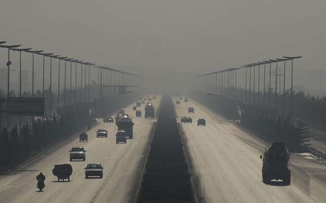 Szennyezett városok - Linfen