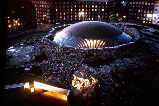 Sziklatemplom, Helsinki