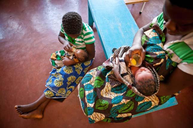 Szülés Afrikában