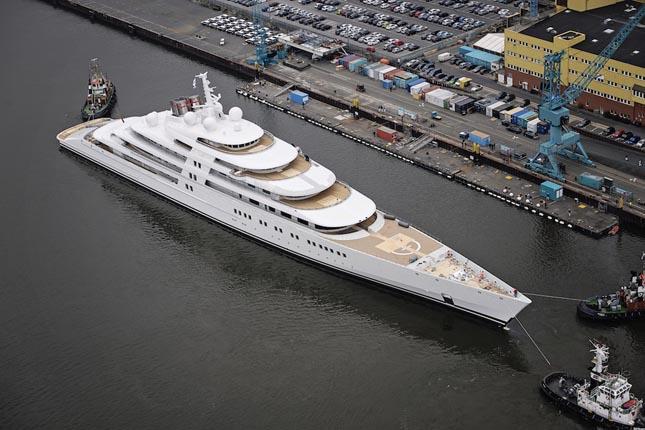 ECLIPSE jacht - PROJECT AZZAM jacht