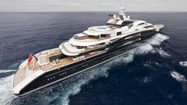 SEVEN SEAS - Steven Spilberg jacht