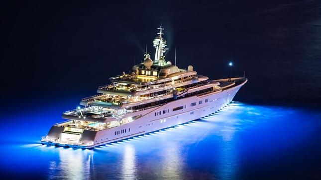 ECLIPSE jacht - Roman Abramovich jacht