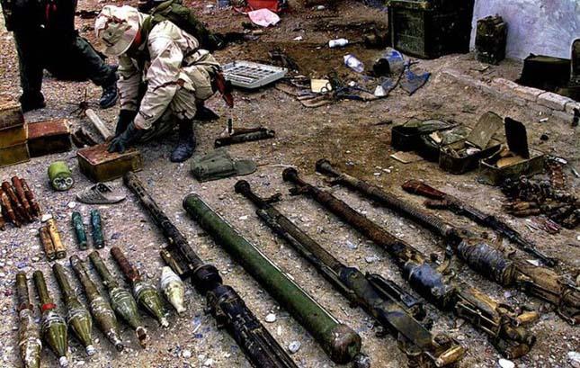 Tálib fegyverek