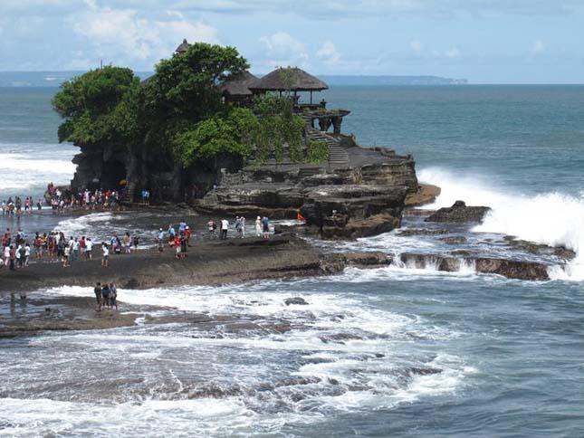 Tanah Lot templom, Bali