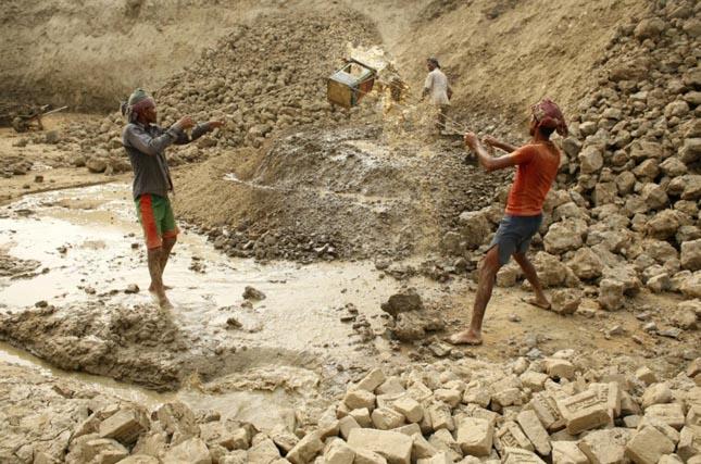 Téglagyár Bangladesben