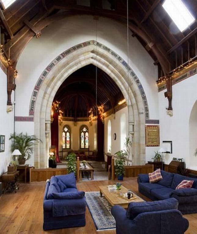 Templomból családi ház, Skócia