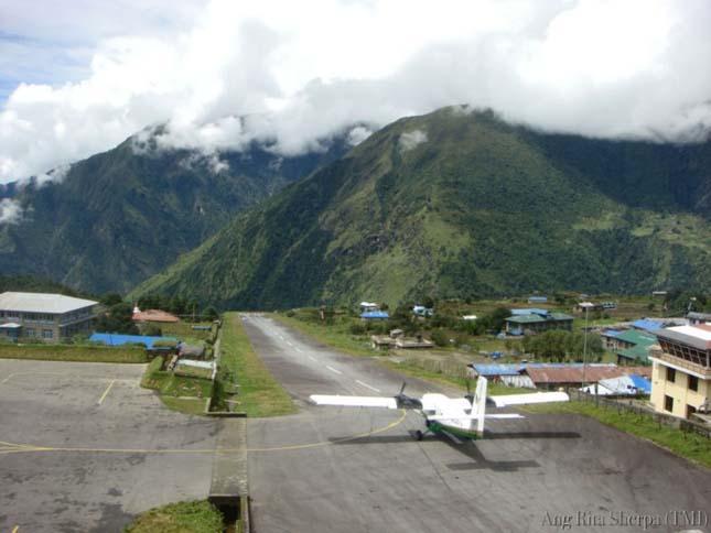 Tenzing-Hillary repülőtér, Nepál