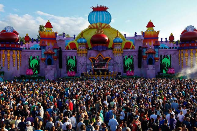 Tommorowland fesztivál