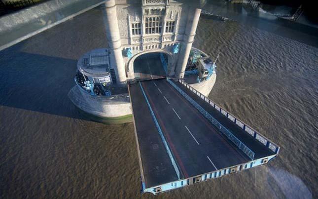Tower Bridge üvegpadlót kapott