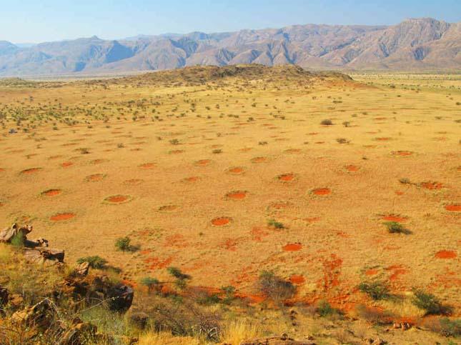 Tündérkörök, Namíbia