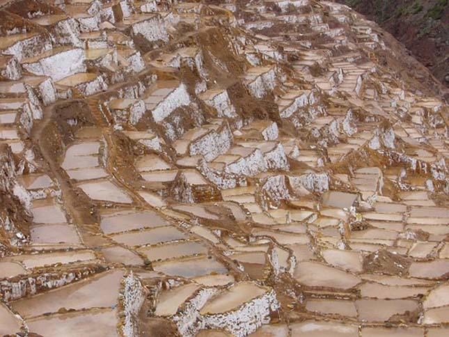 Sóteraszok Urubamba vidékén