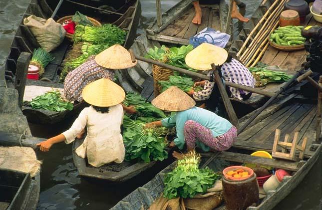 Úszó piacok