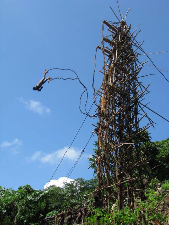 Vanuatui bungee-jumping