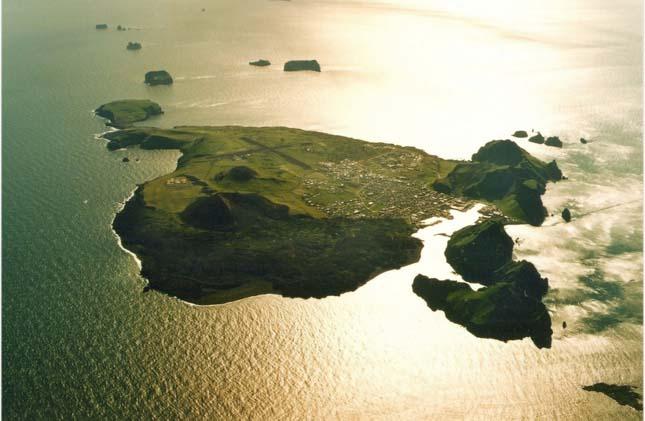 Vestmann-szigetek, Izland