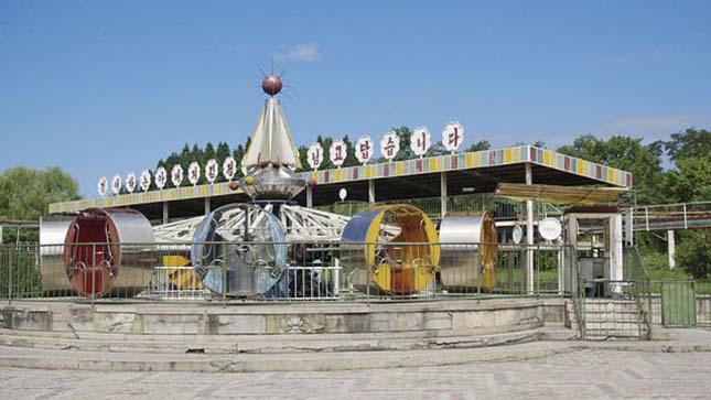 Vidámpark Észak-Koreában