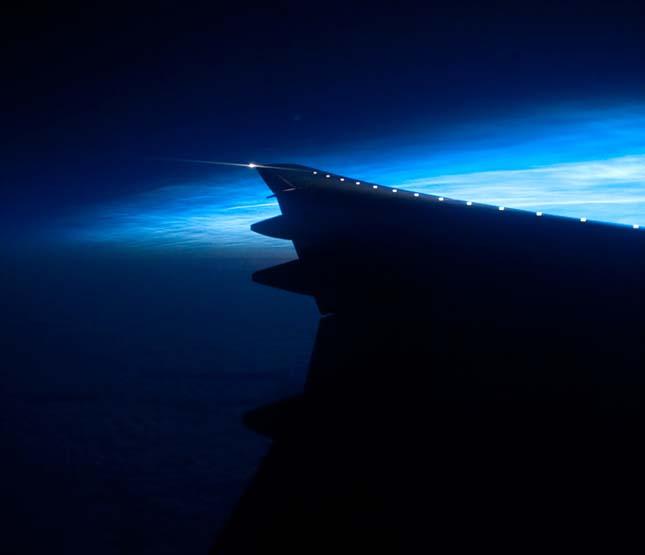 Világító felhők