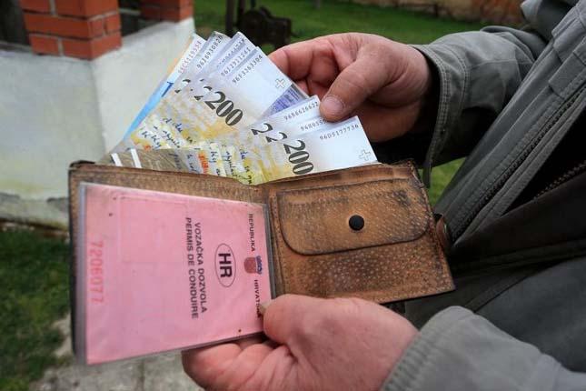 Visszaadott pénztárca