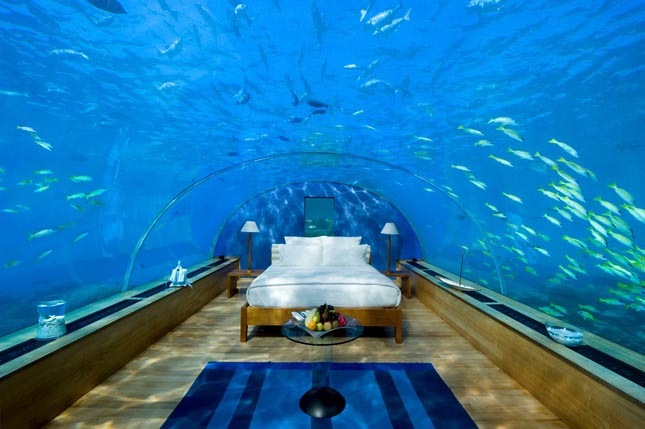 Vízalatti étterem - Ithaa Undersea