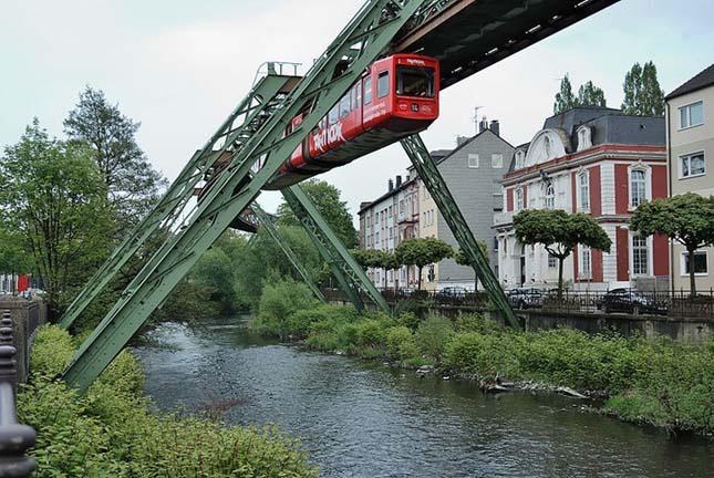 Wuppertal mágnesvasút