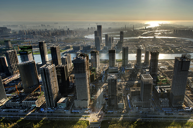 Yujiapu - Tiencsin pénzügyi negyede