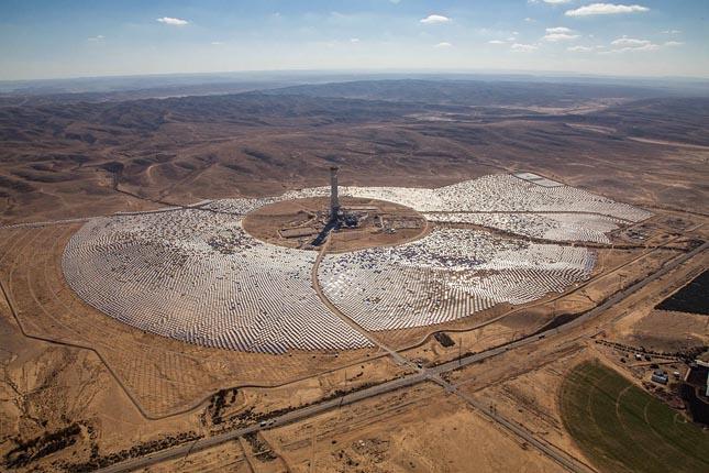 Ashalim-naperőmű, Negev-sivatag, Izrael