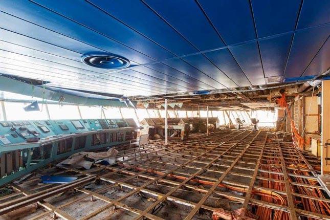 Costa Concordia belülről