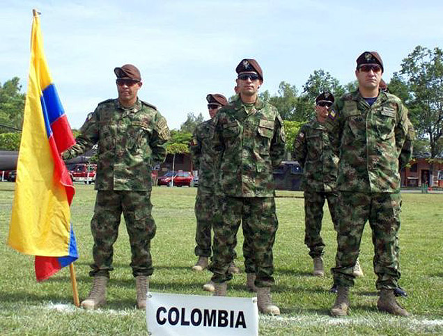 A kolumbiai UFEAU