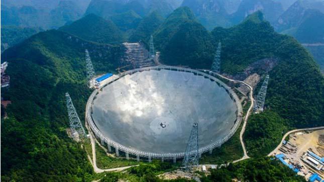 A világ legnagyobb rádióteleszkópja