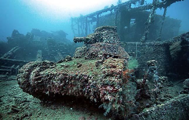 Hátrahagyott tankok