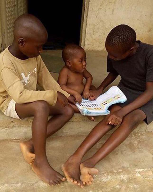 Hope, a megmentett nigériai kisfiú