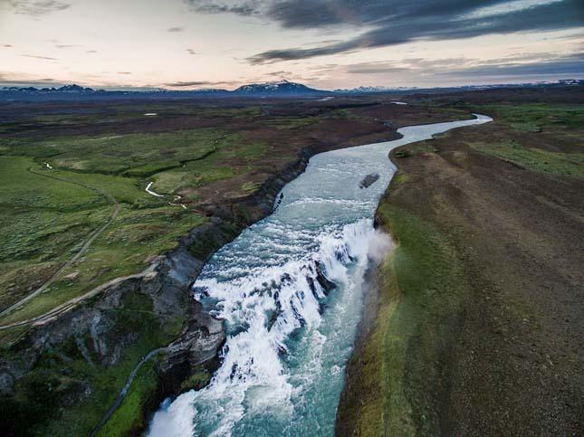 Izland a magasból