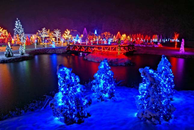 Karácsoni fények