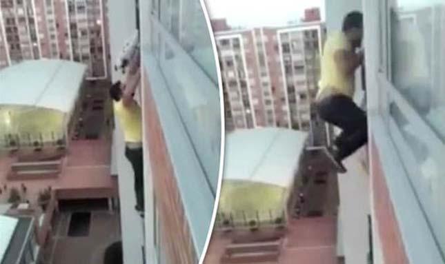 Élete kockáztatásával mentette meg a kutyát