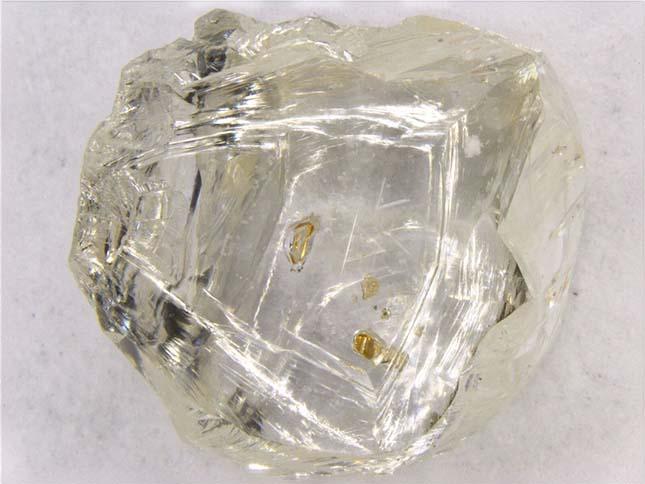 Gyémántbányászat Botswanában