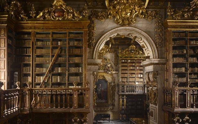 Joanina Könyvtár, Coimbra, Portugália