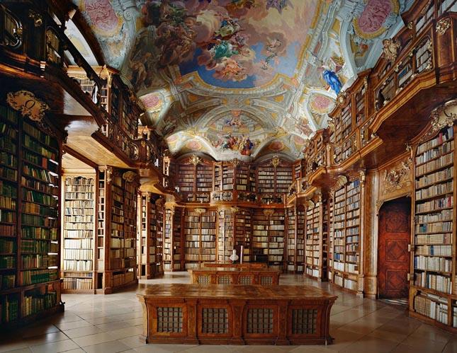 A Szent Flórián rendház könyvtára, Linz-Land, Ausztria