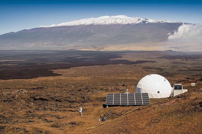 Mars szimuláció - Hawaii, Mauna Loa