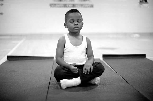 Meditáció az iskolában