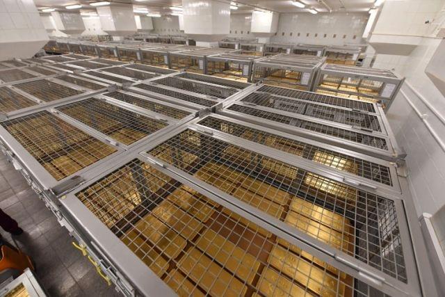 Oroszország aranytartaléka