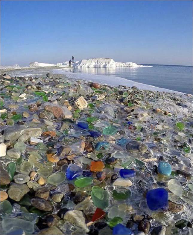 Üvegpart Oroszországban