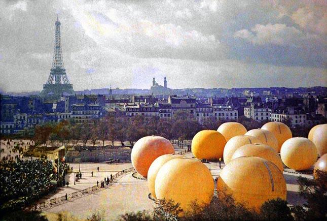 Párizs 100 évvel ezelőtt