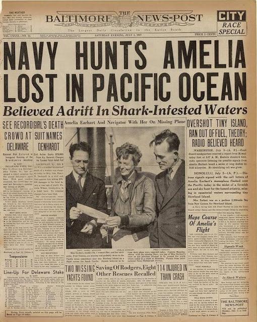 Régi újságcímlapok híres történelmi eseményekről