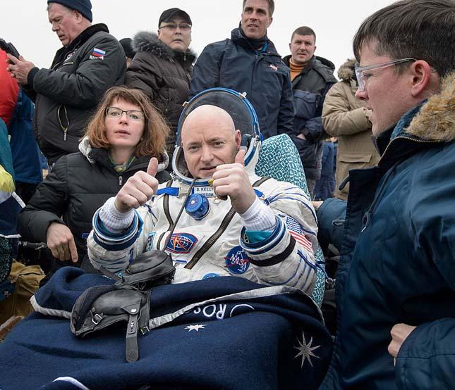 Scott Kelly űrhajós