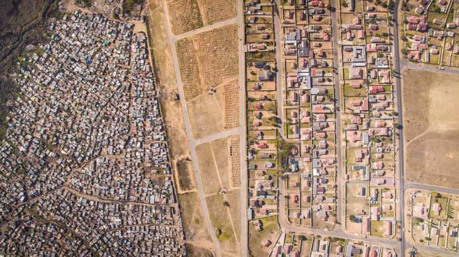 Határvonal szegények és gazdagok között