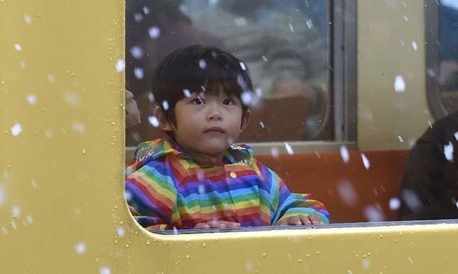 Több mint 50 év után először esett hó novemberben Tokióban