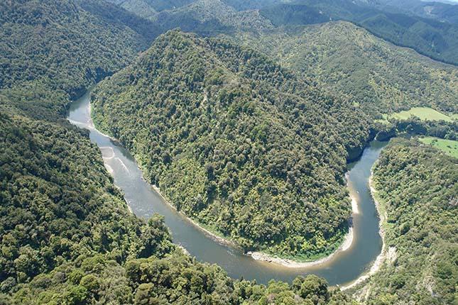 Új-zélandi folyó