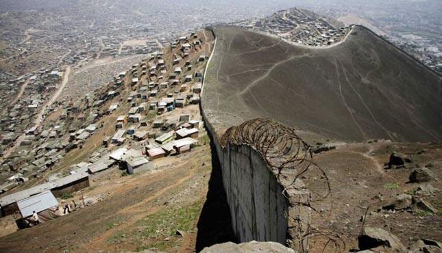 Wall of Shame, Lima, Peru