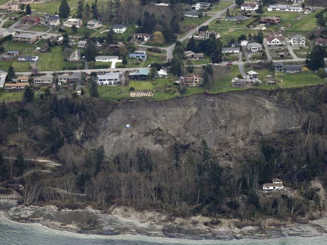 Földcsuszamlás Washingtonban