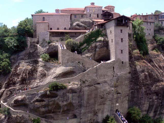 Meteora kolostorok